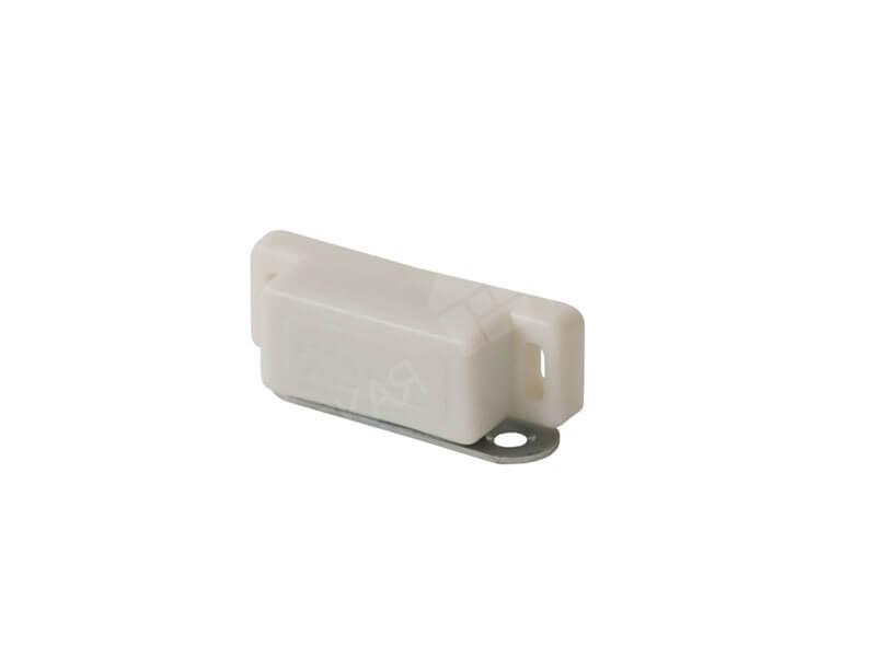 Защелка магнитная для москитной сетки белая