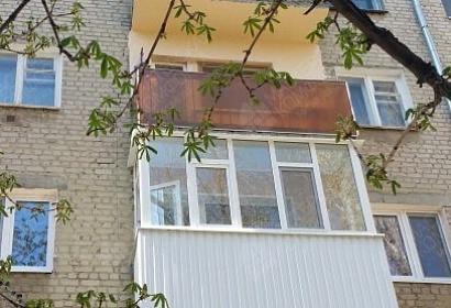 Остекление квартиры и балкона с отделкой ул. Емлютина