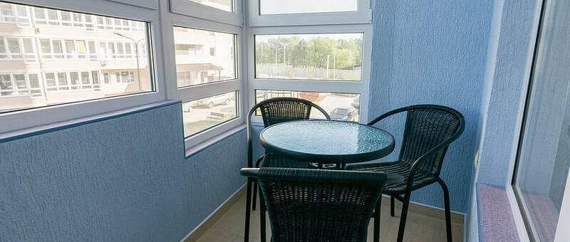 Остекление балкона площадью 5 метров
