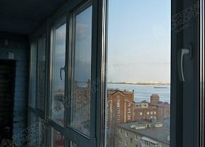 Остекление 2-х лоджий от пола до потолка на ул. Чернышевского