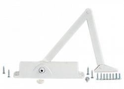 Доводчик Geze TS 1000 с тягой белый